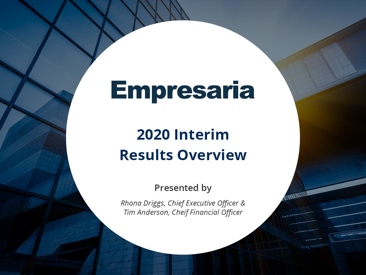 VIDEO: Empresaria Group discuss signs of recovery in the staffing and recruitment market