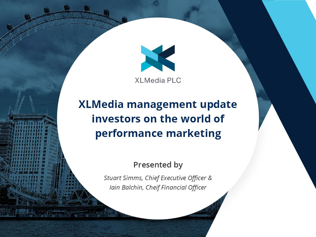 VIDEO: XLMedia management update investors on the world of performance marketing