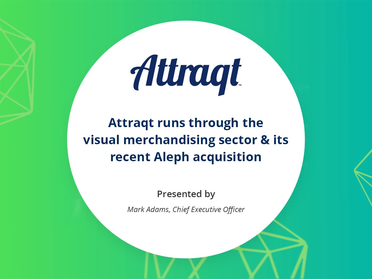 VIDEO: Attraqt runs through the visual merchandising sector & its recent Aleph acquisition