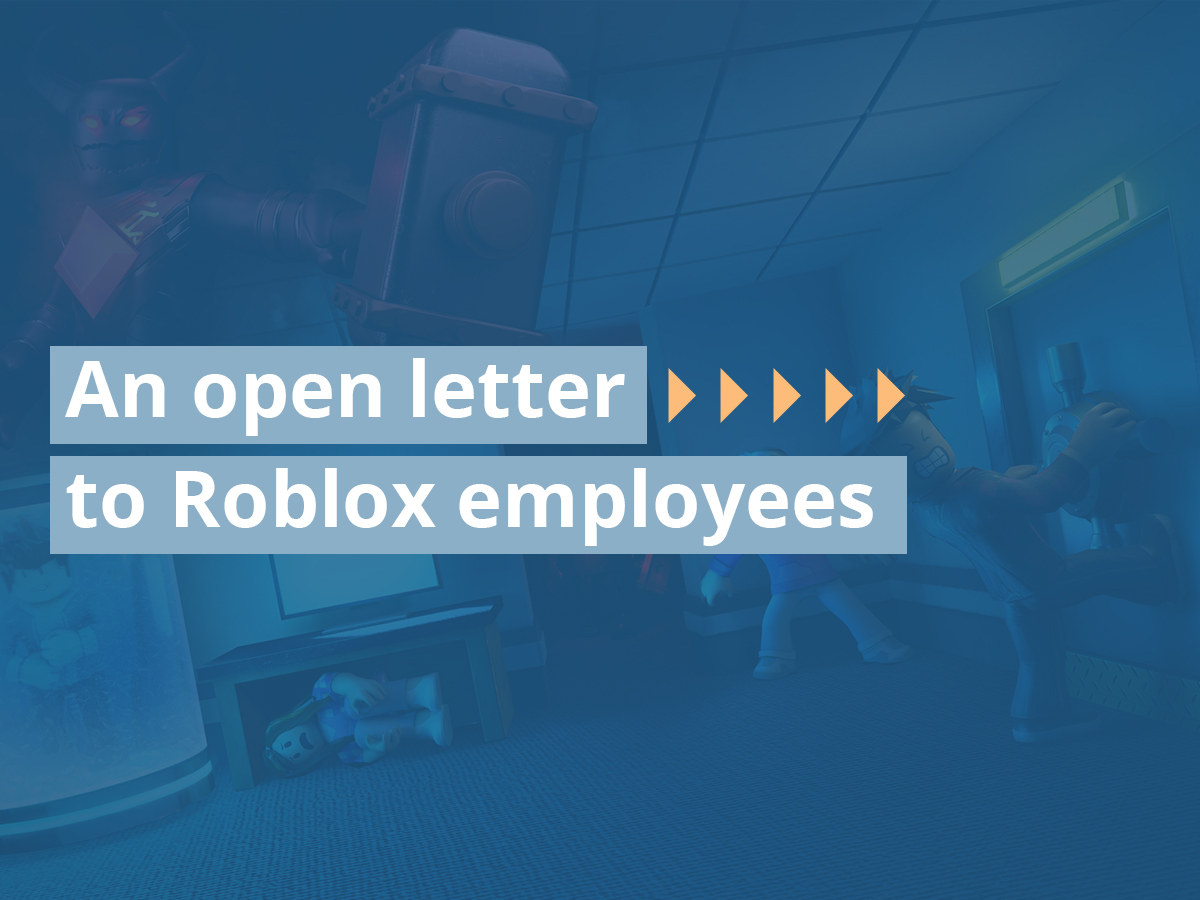 An open letter to Roblox employees